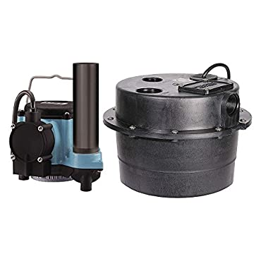 Little Giant 1/3 HP Compact Drainosaur Tank and Pump Combination System (LG-506065)