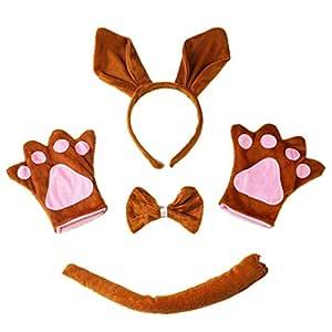 FENICAL Set de Disfraces de Animales con Banda de sujeción de ...