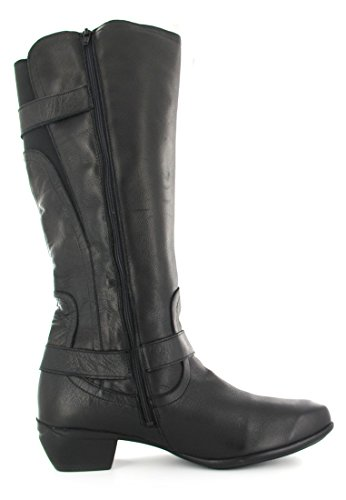 Sale-Romika-Anna 11-Chaussures Femme Bottes-Noir dans différentes tailles