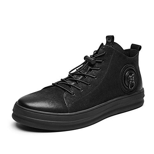 LOVDRAM Stiefel Männer Lederschuhe Herrenschuhe Business Schuhe Mode Kleid Schuhe Mode Herrenschuhe Freizeitschuhe