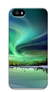 For Iphone 5C Phone Case Cover Northern Lights Custom PC Hard For Iphone 5C Phone Case Cover