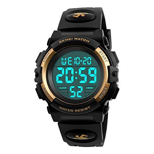 Dodosky Boys Digital Watch for Teen Boys, Girl Watch Toys for 6-15 Year Old Boy Girls Gift for Teen Boys Age 8-15 Present Waterproof Led Watches