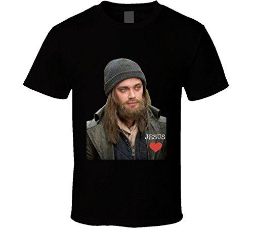 Paul Jesus Monroe Walking Dead Unisex T Shirt Love Tom Payne Zombie Show Tee XL - Knock Tom Off Ford