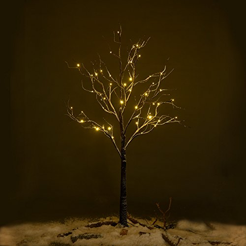 Outdoor Lighted Wire Trees - 7
