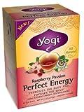 Yogi Tea,16 Tea Bags (Perfect Energy Raspberry Passion, 1 Pack) offers