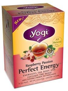 [Yogi Tea,16 Tea Bags (Perfect Energy Raspberry Passion, 1 Pack)] (Yogi Raspberry Tea)