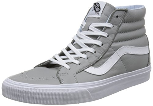 Vans hi drizzle leather Baskets Mixte oxford Hautes Adulte Gris Reissue Sk8 xUrfvx