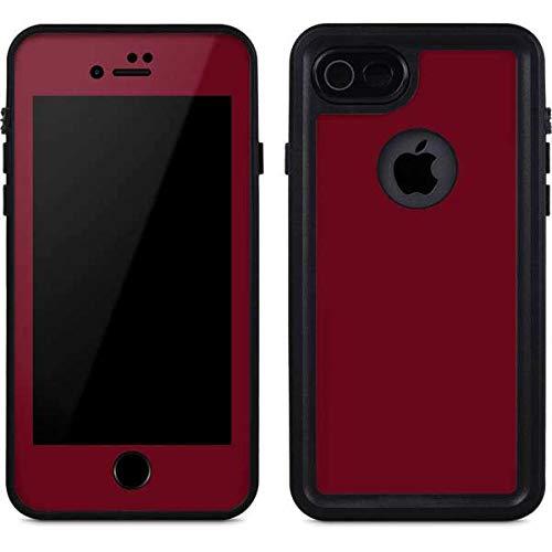 burgandy iphone 8 case