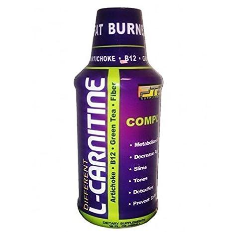 L-Carnitina Líquida con Alcachofa, vitamina B12, Te Verde y Fibra