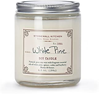 product image for Stonewall Kitchen White Pine Soy Candle, 6.5 Ounce