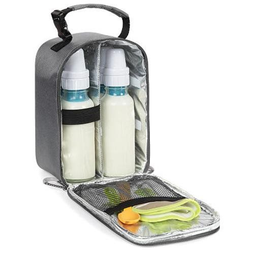 Columbia Jackson Valley Insulated Baby Food and Bottle Tote, Grey