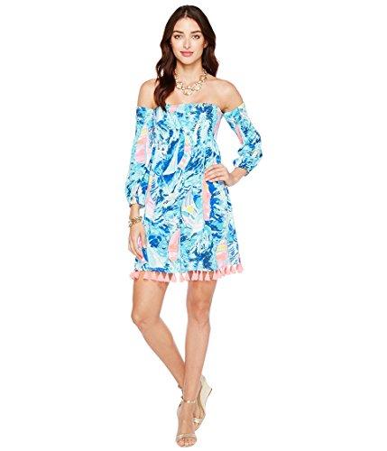 どきどき哀竜巻[リリーピュリッツァー] Lilly Pulitzer レディース Trina Beach Dress ドレス [並行輸入品]