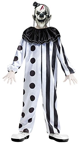 Scary Clown Costumes For Kids - Boys Killer Clown Costume -