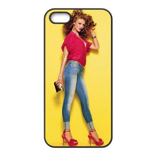 Cintia Dicker Fashion Model coque iPhone 4 4S cellulaire cas coque de téléphone cas téléphone cellulaire noir couvercle EEEXLKNBC24249