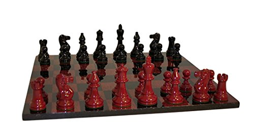 Black and Red Lacquer Classic Set by Worldwise Imports