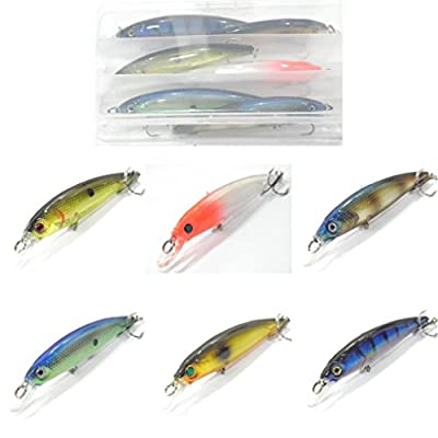 wLure Minnow Crankbait Hard Bait Fishing Lure