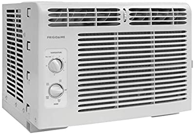 Frigidaire FFRA0511R1 5, 000 BTU 115V Window-Mounted Mini-Compact Air Conditioner with Mechanical Controls (Certified Refurbished)