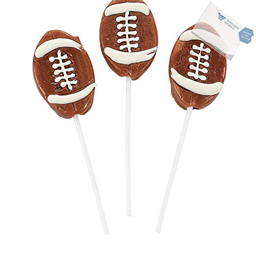 (Bargain World Football Suckers (With Sticky Notes))