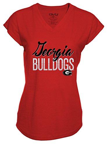 s Ladies Tri-Blend V-Neck T-Shirt, XX-Large, Red ()