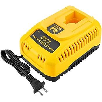 DEWALT Charger for 7.2V-18V Battery, 1-Hour Fast Charging ...