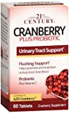 21st Century Cranberry plus Probiotic - 60 Tablets, Pack of 6