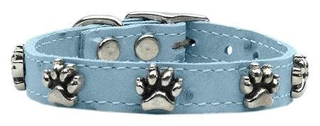 Faux Ostrich Paw Leather Baby Blue 24