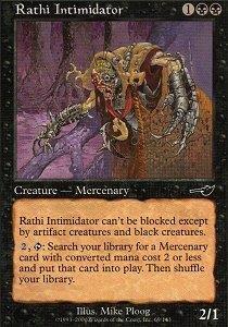 Magic: the Gathering - Rathi Intimidator - (Dragon Intimidator)