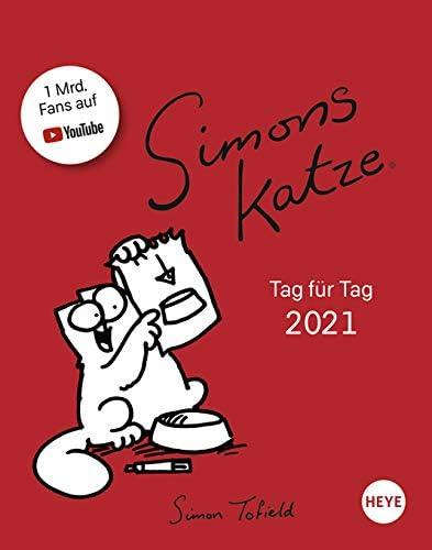 Simon's Cat - Tagesabreißkalender 2021
