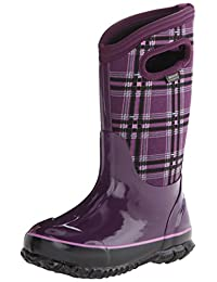 Bogs Classic Winter Plaid Waterproof Winter & Rain Boot (Infant/Toddler/Little Kid/Big Kid)