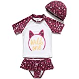Baby Swimsuit Girl Bathing Suit with UPF 50+...