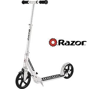 Razor A5 DLX Scooter, Silver
