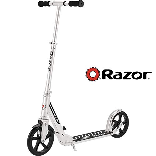 Razor A5 DLX Kick Scooter - Silver - 13013211 (Lux A5 Scooter)