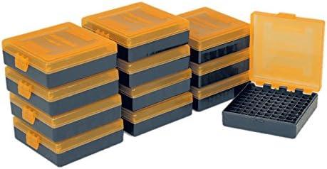 Smart Reloader SMARTRELOADER Caja de Municion #10, 100 municiones en Calibre .22Lr.25ACP - Pack Ahorro de 12 Cajas: Amazon.es: Deportes y aire libre