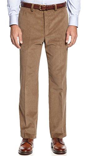 Lauren Ralph Lauren Light Olive Flat Front Corduroy Pant (40Wx32L)