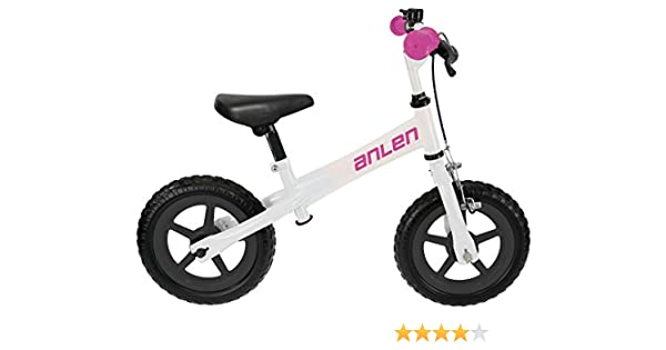 M-Wave Anlen Bicicleta Infantil, Unisex Adulto, Blanco, 12 Pulgadas: Amazon.es: Deportes y aire libre