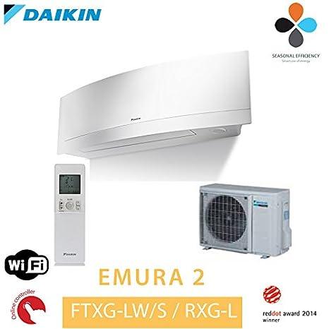 Daikin Emura II modelo ftxg20lw