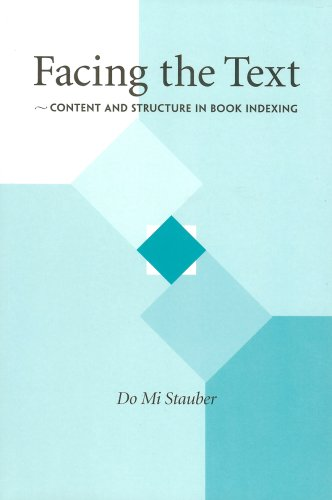 Facing the Text: Content and Structure in Book Indexing pdf
