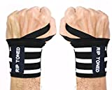 "Rip Toned Wrist Wraps by 18"" Professional Grade"