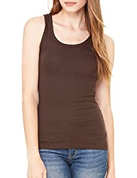 Women's Crystal Cotton Spandex Everyday Tank Top