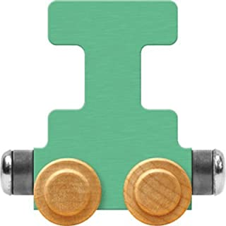 product image for Maple Landmark NameTrain Pastel Letter Car I - Made in USA (Green)