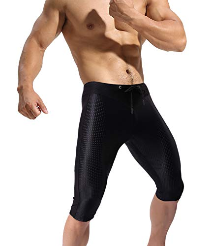 Minaso Yoga Tights Men Quick Dry Compression Workout Shorts