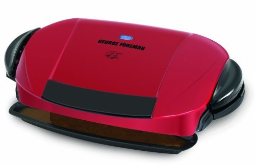 George Foreman The Next Grilleration Grill, Red