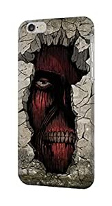 """R2265 Attack on Titan Zombie Titan in the Wall Case Cover For IPHONE 6 (4.7"""")"""
