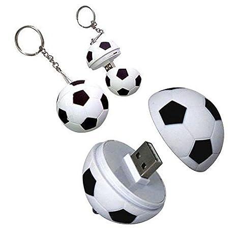 Nuevo Fútbol Pen Drive personalidad creativa Fútbol USB 2.0 Flash ...