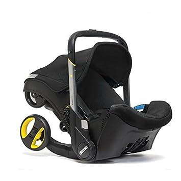 Doona Car Seat Stroller Group 0-1 (Night Black), Revolutionary 2-in