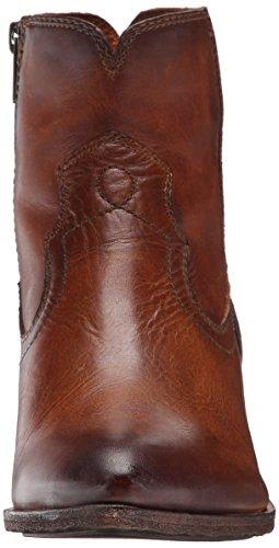 Frye Botas de costura Ray corto para las mujeres Cognac-75883