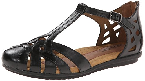 Rockport Cobb Hill Women's Ireland CH Dress Sandal,Black,7 M US