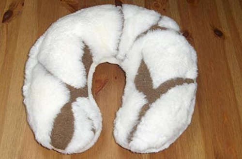 Merino Wool Travel Neck Pillow Horseshoe Pillow/Cushion CASHMERE 100% WOOL WOOLMARKED
