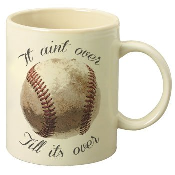 (It Ain't Over Till' It's Over Yogi Berra Tribute 11oz Coffee Mug)