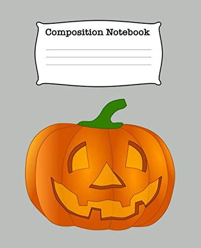 Composition Notebook: Pumpkin Wide Ruled Lined Journal -